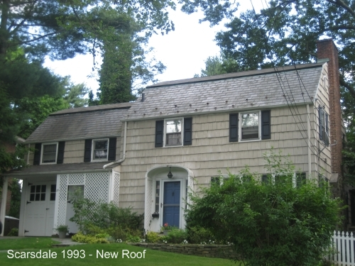 Scarsdale 1993 New Roof