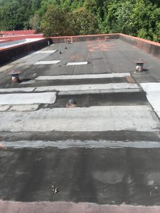 BEFORE - APP Modified Bitumen Flat Roof 2016